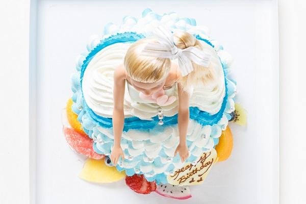 ドールケーキ 底面20cm×高さ18cmの画像4枚目