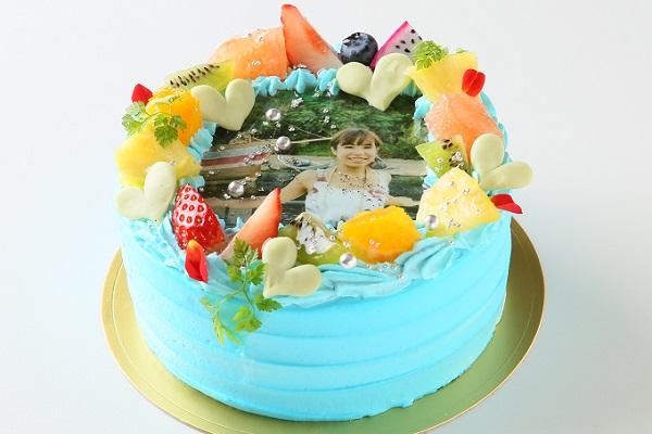 写りが綺麗な写真ケーキ 5号 15cmの画像2枚目