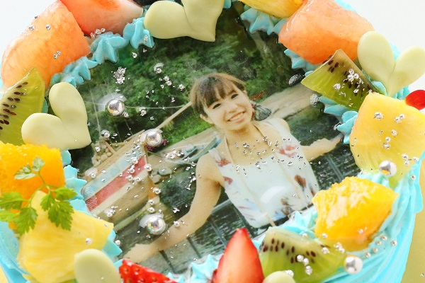 写りが綺麗な写真ケーキ 5号 15cmの画像6枚目