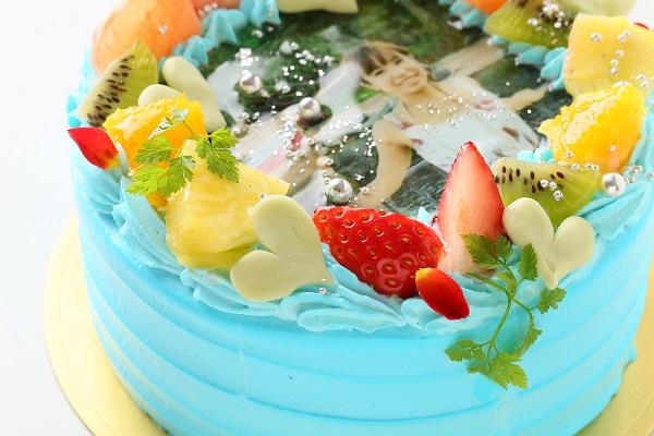 写りが綺麗な写真ケーキ 5号 15cmの画像7枚目