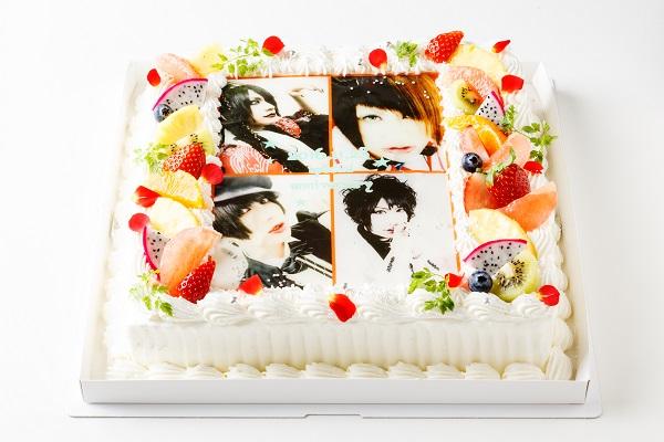 【東京首都圏のみ 直接冷蔵配送】大型写真ケーキ 30×30cmの画像1枚目