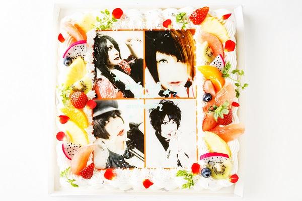 【東京首都圏のみ 直接冷蔵配送】大型写真ケーキ 30×30cmの画像2枚目
