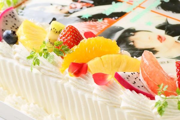 【東京首都圏のみ 直接冷蔵配送】大型写真ケーキ 30×30cmの画像6枚目