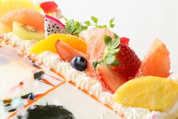 【東京首都圏のみ 直接冷蔵配送】大型写真ケーキ 30×30cmの画像7枚目