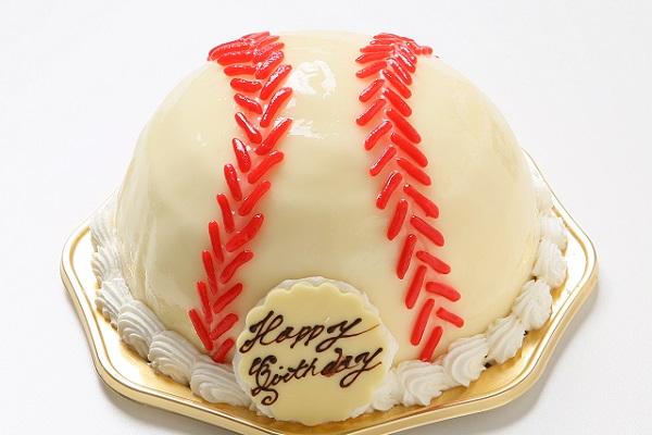 立体ケーキ 野球ボール 4号 12cmの画像1枚目