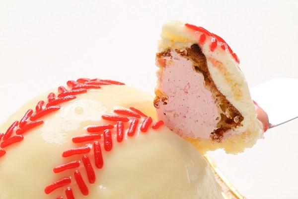 立体ケーキ 野球ボール 4号 12cmの画像3枚目