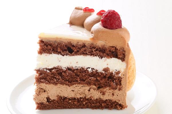 オーダーメード写真ケーキ(チョコクリーム)15cm(3〜4人用)(1027)の画像4枚目