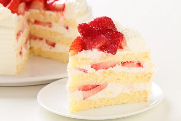 苺たっぷりショートケーキ 4号 12cmの画像5枚目