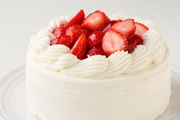 苺たっぷりショートケーキ 4号 12cmの画像8枚目