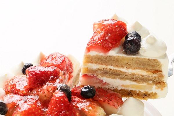 卵・乳製品除去 母の日スペシャル生ケーキ  5号 15cmの画像3枚目