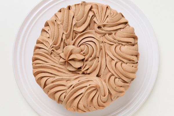 卵・乳製品・小麦粉除去可能 チョコクリームデコレーションケーキ 4号 12cmの画像2枚目