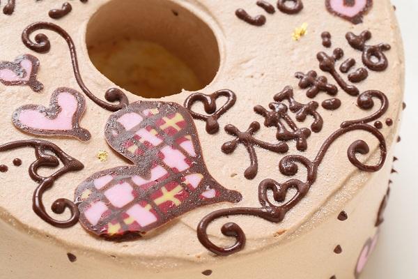 バレンタイン限定 お手紙ケーキ 直径21cmの画像7枚目