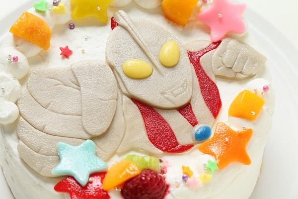 乳製品・小麦粉除去 キャラクターケーキ 豆乳クリーム 4号 12cmの画像15枚目