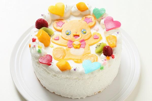 乳製品・小麦粉除去 キャラクターケーキ 豆乳クリーム 4号 12cmの画像2枚目