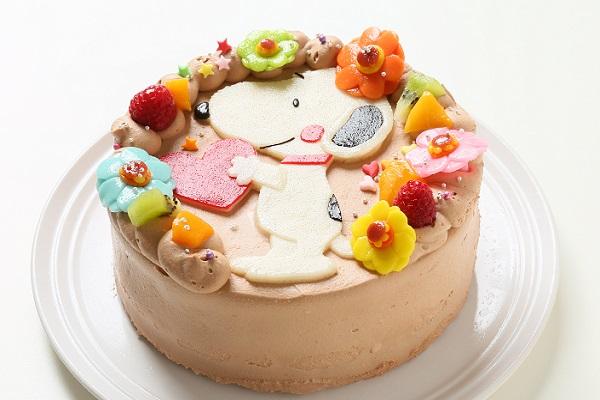 乳製品・小麦粉除去 キャラクターケーキ 豆乳クリーム 4号 12cmの画像5枚目