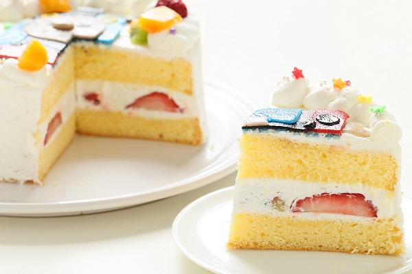 乳製品・小麦粉除去 キャラクターケーキ 豆乳クリーム 4号 12cmの画像8枚目