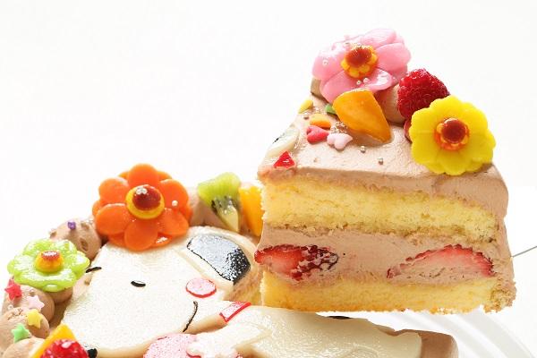 乳製品・小麦粉除去 キャラクターケーキ 豆乳クリーム 4号 12cmの画像9枚目