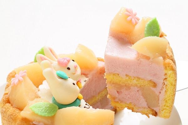 初節句におすすめな乳幼児ヨーグルトケーキ 4号 12cm ひなまつり限定の画像3枚目
