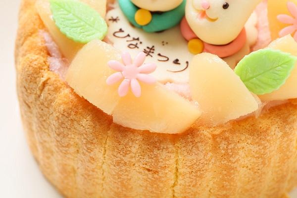初節句におすすめな乳幼児ヨーグルトケーキ 4号 12cm ひなまつり限定の画像7枚目