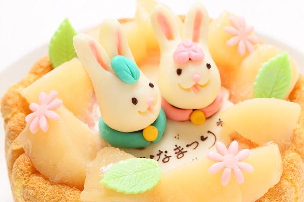 初節句におすすめな乳幼児ヨーグルトケーキ 4号 12cm ひなまつり限定の画像8枚目