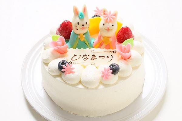 ひな祭りケーキ 5号 15cm ひなまつり限定の画像1枚目