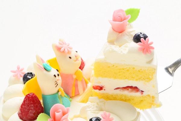 ひな祭りケーキ 5号 15cm ひなまつり限定の画像3枚目
