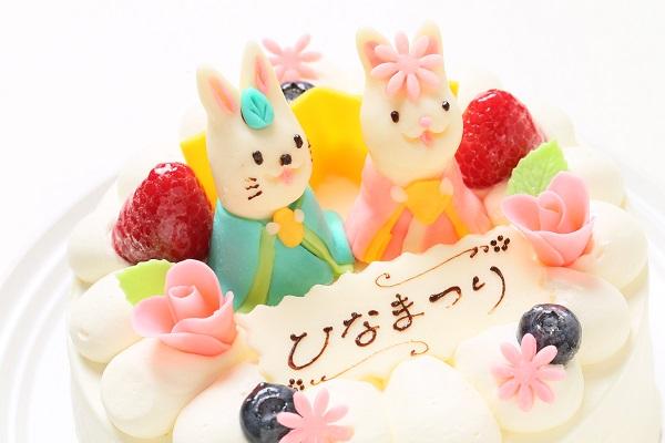 ひな祭りケーキ 5号 15cm ひなまつり限定の画像6枚目