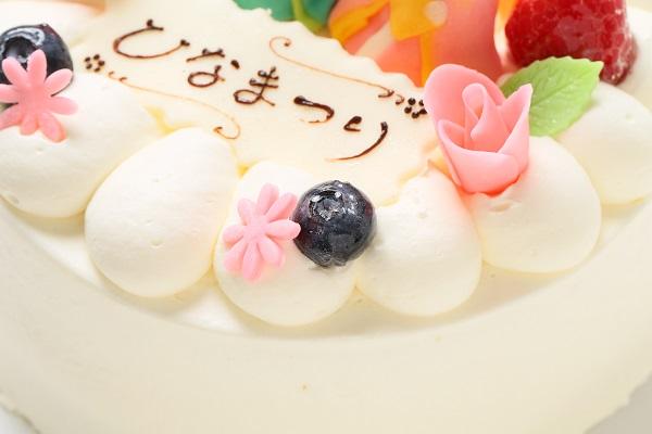 ひな祭りケーキ 5号 15cm ひなまつり限定の画像7枚目
