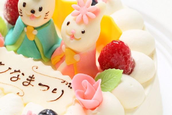 ひな祭りケーキ 5号 15cm ひなまつり限定の画像8枚目