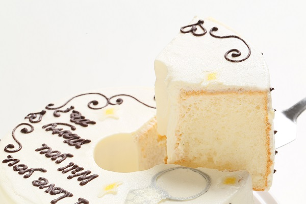 ホワイトデー限定 プロポーズお手紙ケーキ 直径21cmの画像3枚目