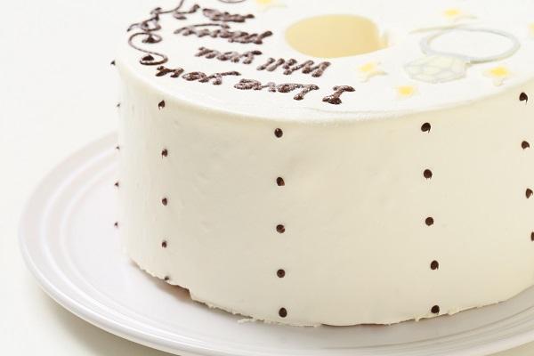 ホワイトデー限定 プロポーズお手紙ケーキ 直径21cmの画像7枚目