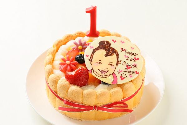 1歳の誕生日ケーキイメージ