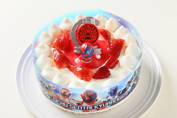 生デコレーションケーキ 宇宙戦隊キュウレンジャー 5号 15cmの画像1枚目