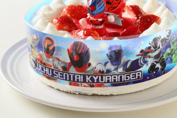 生デコレーションケーキ 宇宙戦隊キュウレンジャー 5号 15cmの画像10枚目