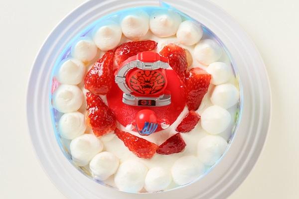 生デコレーションケーキ 宇宙戦隊キュウレンジャー 5号 15cmの画像2枚目