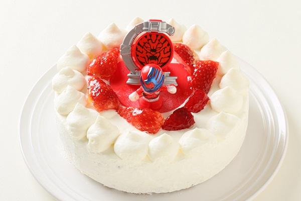 生デコレーションケーキ 宇宙戦隊キュウレンジャー 5号 15cmの画像3枚目