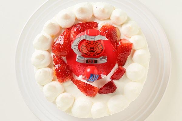 生デコレーションケーキ 宇宙戦隊キュウレンジャー 5号 15cmの画像4枚目
