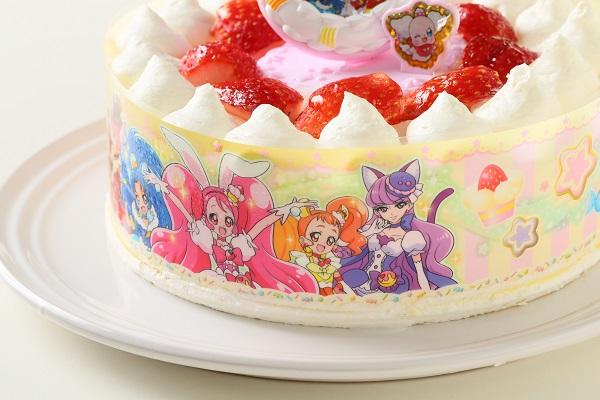 生デコレーションケーキ プリキュアアラモード 5号 15cmの画像10枚目
