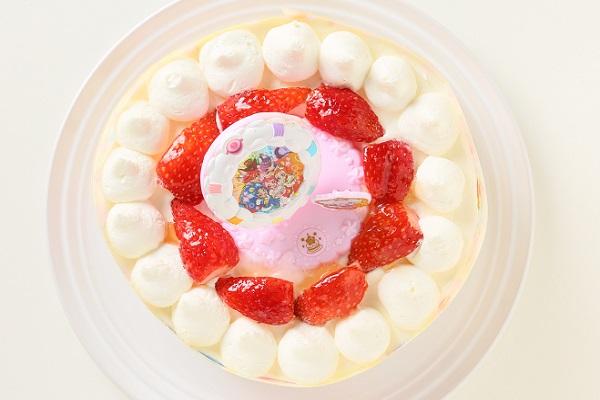生デコレーションケーキ プリキュアアラモード 5号 15cmの画像2枚目