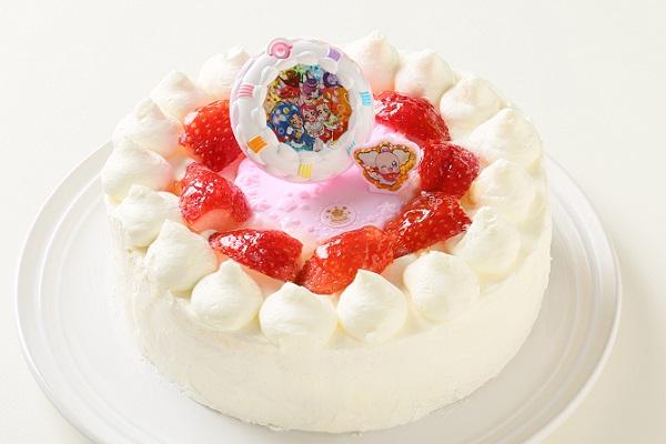 生デコレーションケーキ プリキュアアラモード 5号 15cmの画像3枚目