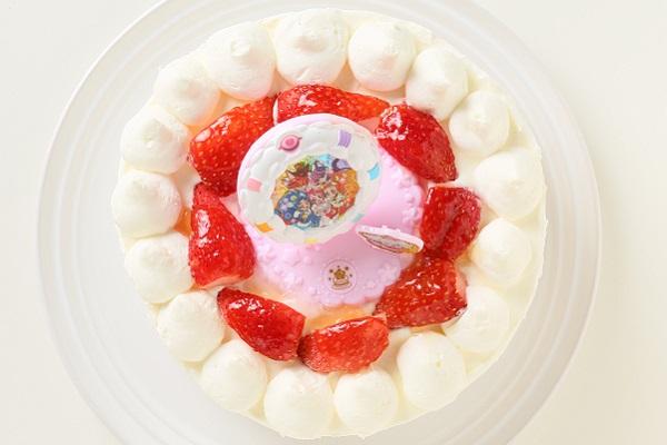 生デコレーションケーキ プリキュアアラモード 5号 15cmの画像4枚目