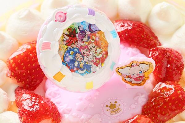 生デコレーションケーキ プリキュアアラモード 5号 15cmの画像9枚目