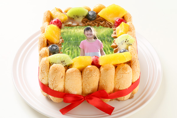 スペシャルチョコフォトケーキ 15×15cmの画像1枚目