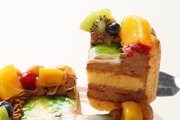 スペシャルチョコフォトケーキ 15×15cmの画像3枚目