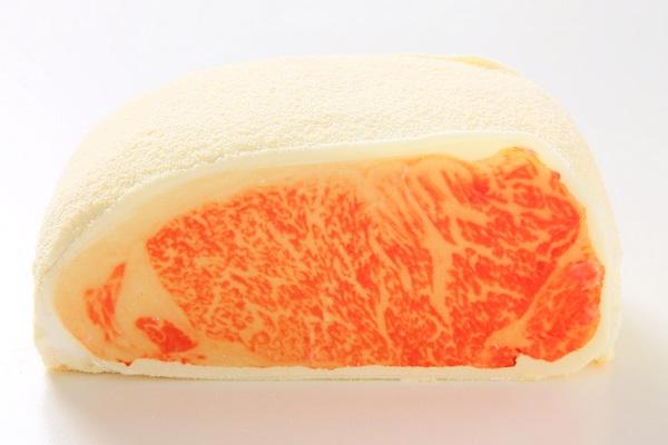 buy online 984c0 460f9 和牛サーロインケーキ(ヴァムン洋菓子店 ) | Cake.jp