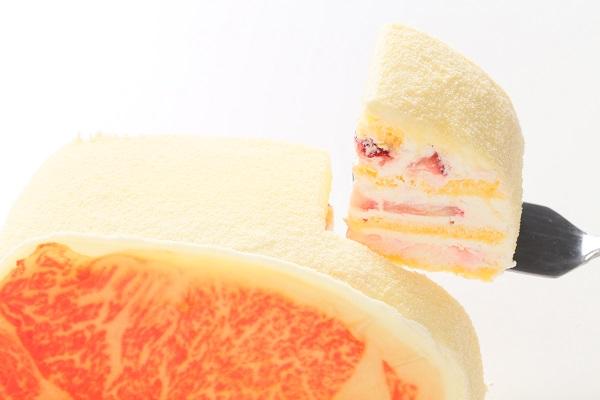 和牛サーロインケーキの画像3枚目