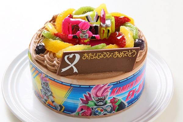 キャラデコ生チョコクリーム  仮面ライダーエグゼイド 5号 15cm