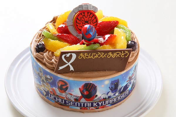 キャラデコ生チョコクリーム キュウレンジャー 5号 15cmの画像1枚目
