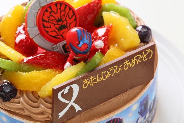 キャラデコ生チョコクリーム キュウレンジャー 5号 15cmの画像6枚目