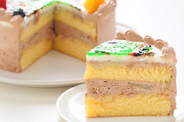 フランボワーズオリジナル イラストケーキ 5号 15cmの画像11枚目